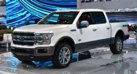 Ford Offering A Diesel Engine In Its 2018 F-150 Pickup