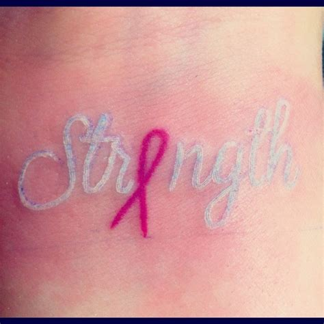 inspirational  beautiful breast cancer tattoos