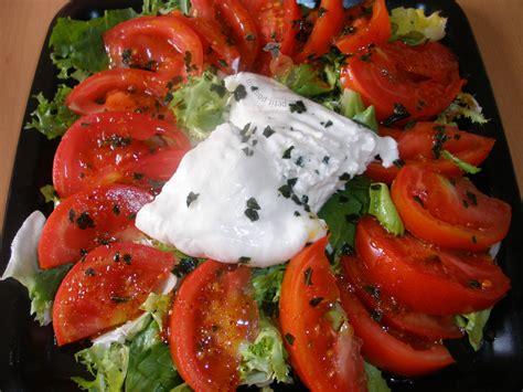 cuisine de laurent mariotte salade italienne à la burrata recette de cuisine