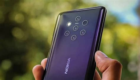 nokia 9 pureview can take 64mp can use all five cameras simultaneously report