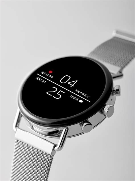 skagen falster smartwatch minimizes style  maximizes technology