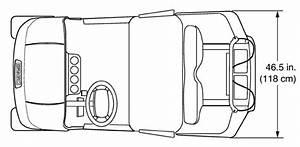 Ez-go Rxv Diagram - Top View