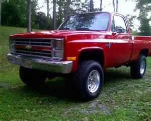 1984 Chevy Silverado 4x4 Truck