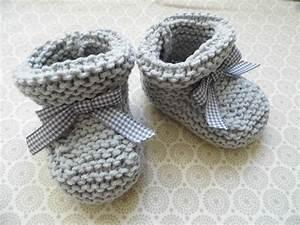 Chausson Chaussette Bébé : comment tricoter les chaussons bebe chaussures shoes pinterest tricot tricot b b et ~ Teatrodelosmanantiales.com Idées de Décoration