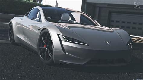 Tesla Roadster 2020 [addon  Replace  Auto Spoiler] 10