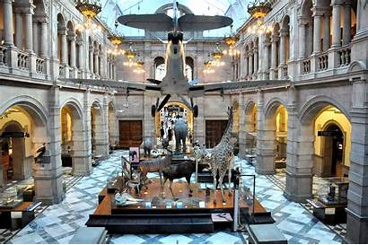 Glasgow Kelvingrove Museum Scotland General Halls Hall
