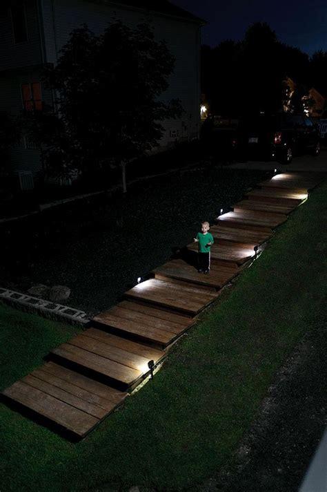 ls plus landscape lighting mr beams mb572 battery powered motion sensing led path