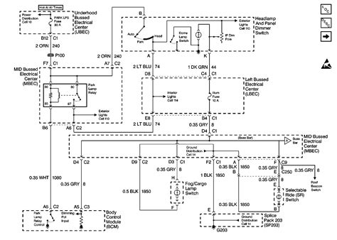 Wiring Harnes Schematic For Chevy Silverado by Chevrolet Silverado Has No Power In The Dash Lights