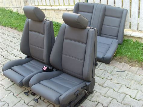 3 Seat Covers by Bmw 3 Series E30 Convertible Leather Seat Covers Genuine