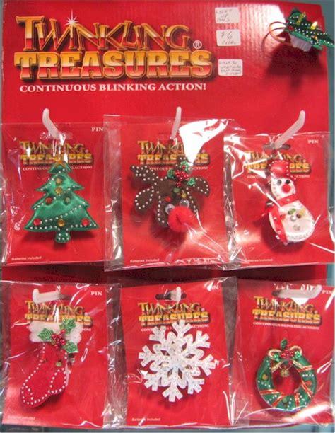light up christmas pins backward glances
