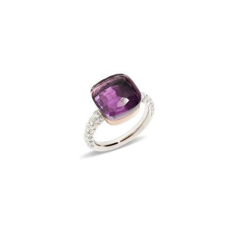 anello pomellato prezzo pomellato nudo anello in oro bianco oro rosa