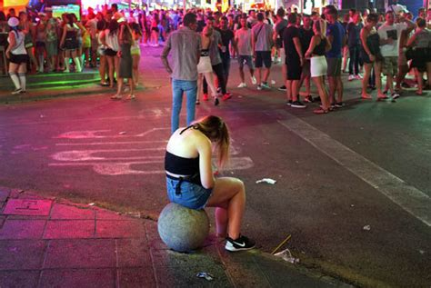 Magaluf Arrests Doubled Amid Crackdown On Brits Drunken