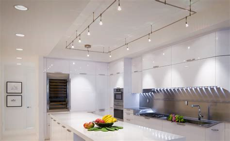tech lighting monorail kitchen design style my design42