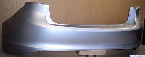 ford fiesta sedan rear bumper cover bumper