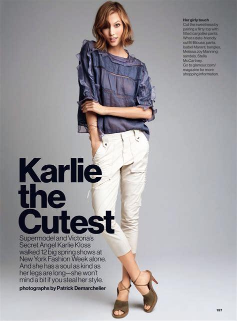 Karlie Kloss Glamour Magazine February Issue