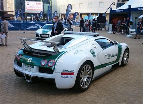 Dubai Cops Now Have A Bugatti Veyron On Their Fleet