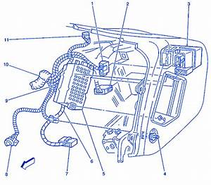 Chevrolet Blazer 4x4 2004 Inside Electrical Circuit Wiring Diagram  U00bb Carfusebox