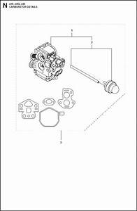 Husqvarna 236  967326403  Chainsaw Carburetor Spare Parts