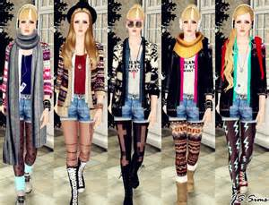 Sims 3 Girl Outfits