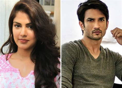 Rhea Chakraborty did not meet Sushant Singh Rajput on June ...