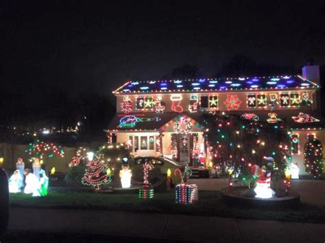 updated map  christmas light displays  long
