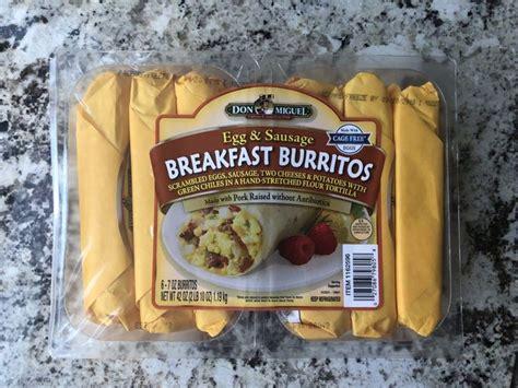 costco part  breakfast burritos frozen breakfast food