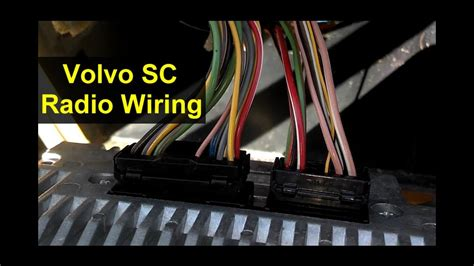 Volvo Auto Car Stereo Wiring Diagram Technical Diagrams