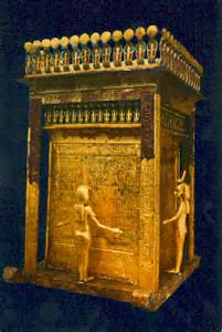 King Tut Canopic Shrine