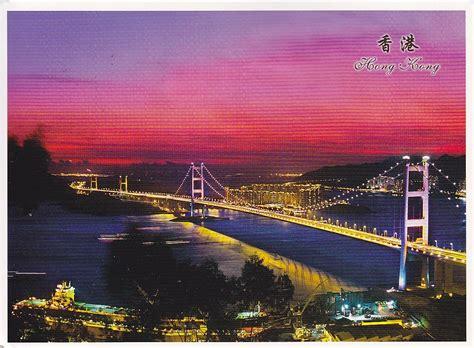 Postcard A La Carte Bridges Design Type Double Decker