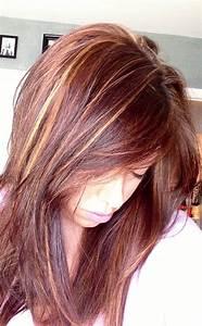 Red blonde brown hair | hair & make upp | Pinterest