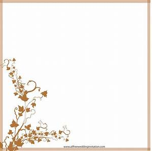 Wedding invitation borders gangcraftnet for Wedding invitation page borders free download