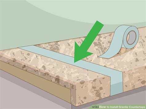 granite countertops installation how to install granite countertops 11 steps with pictures