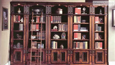 Library Bookcase Ladder by Davinci Library Furniture Collection From House