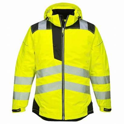 Jacket Yellow T400 Portwest Winter Vis Hi