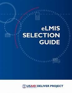 Elmis Selection Guide