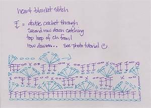 Laura U0026 39 S Frayed Knot  Crochet Heart Stitch