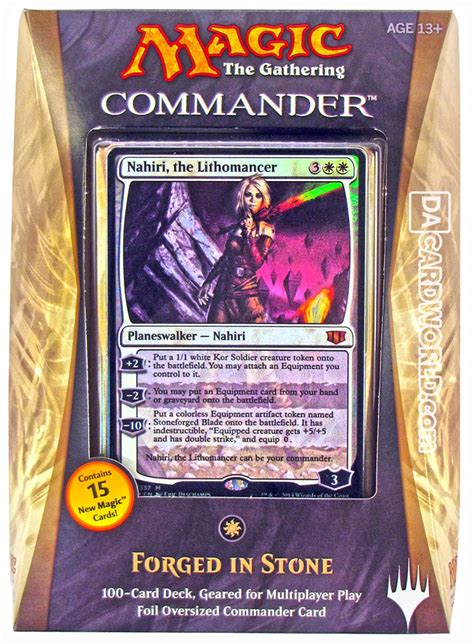 Mtg Commander Decks 2014 by Magic The Gathering Commander Deck 2014 Forged In