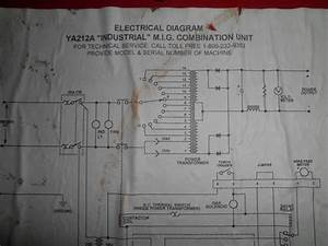 Snap On Ya212a Mig Welder Design   Over Heat Model