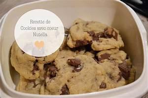 Recette Fondant Au Nutella : simplement claire cookies coeur fondant nutella ~ Melissatoandfro.com Idées de Décoration