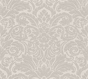 luxury wallpaper mit glasperlen veredelte tapete With markise balkon mit ornament tapete