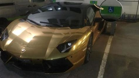 Pierre-Emerick Aubameyang Was Caught Parking His Gold ...