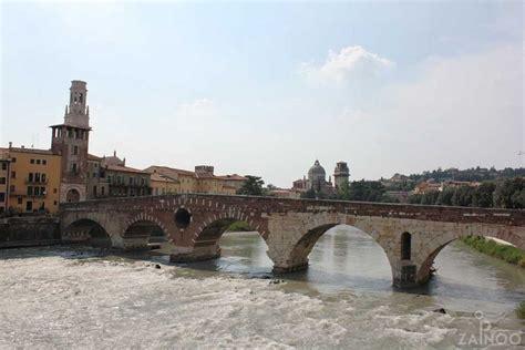 ponte pietra the oldest bridge in verona