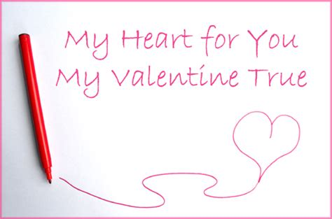 Valentine's Day Poem for Preschool Parents