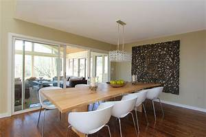 Modern Crystal Chandelier Dining Room Contemporary With