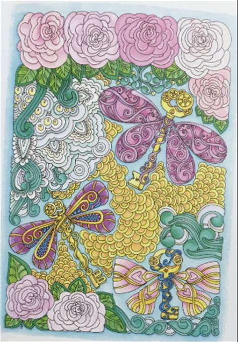 creative haven entangled dragonflies coloring book adult coloring adult coloring book club