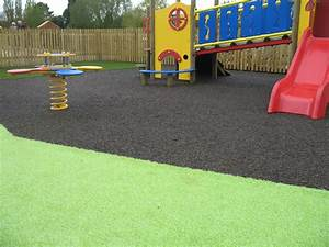 Safety flooring specialists soft surfaces for Garden play area flooring