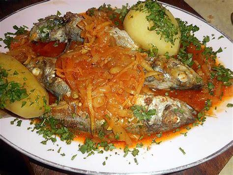 cuisine portugaise recettes recette de chinchards a la portugaise