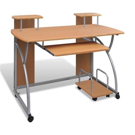 bureau pour ordinateur pas cher meuble d ordinateur pas cher table de lit
