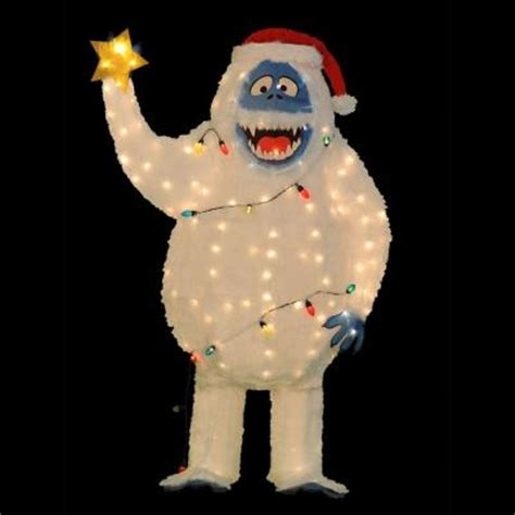 4 Ft Pre Lit Led Christmas Tree by Home Accents Holiday 5 Ft Pre Lit Tinsel Bumble From