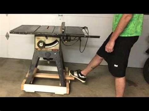 retractable caster base   table  youtube projects     diy table